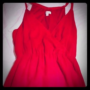 Charming Charlie Red Dress